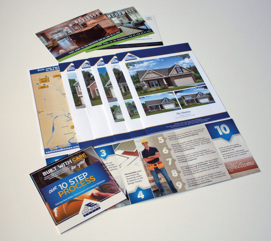 Eastwood Homes Marketing Collateral